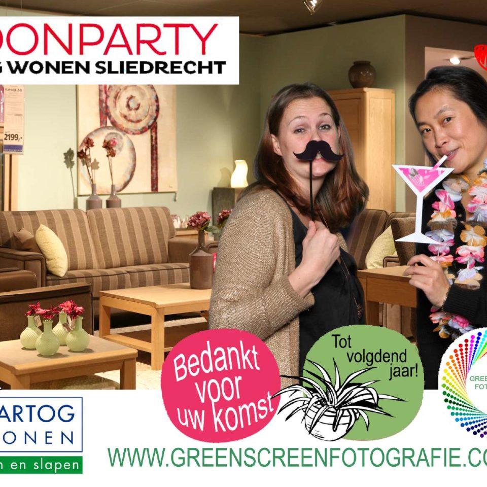 Green screen fotografie