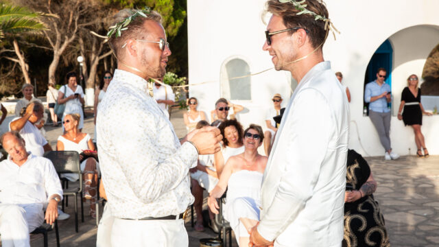 Griekse sprookjes bruiloft op Samos